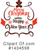 Royalty-Free (RF) Christmas Clipart Illustration #1434598