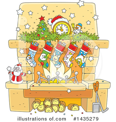 Christmas Clipart #1435279 by Alex Bannykh