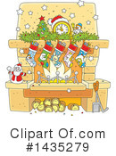 Royalty-Free (RF) Christmas Clipart Illustration #1435279