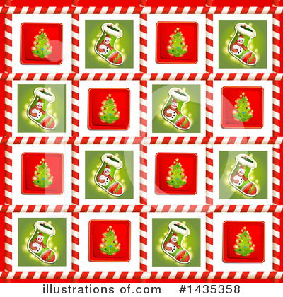Christmas Stocking Clipart #1435358 by merlinul