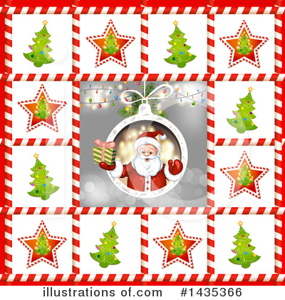 Royalty-Free (RF) Christmas Clipart Illustration by merlinul - Stock Sample #1435366