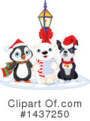 Royalty-Free (RF) Christmas Clipart Illustration #1437250