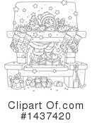 Christmas Clipart #1437420 by Alex Bannykh