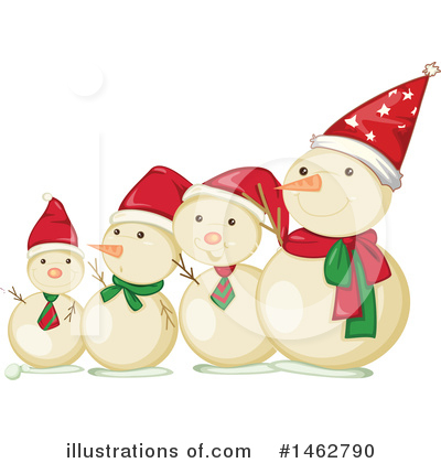 Snowman Clipart #1462790 by Graphics RF