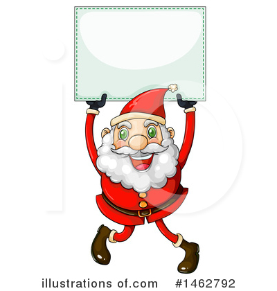 Santa Clipart #1462792 by Graphics RF