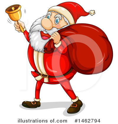 Santa Clipart #1462794 by Graphics RF