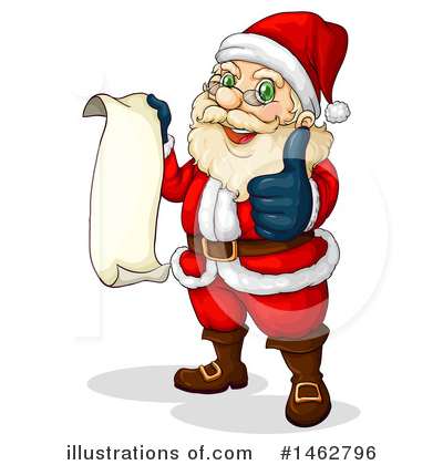Santa Clipart #1462796 by Graphics RF