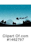 Royalty-Free (RF) Christmas Clipart Illustration #1462797