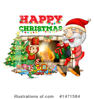 Fireplace Clipart #1471584 by Graphics RF