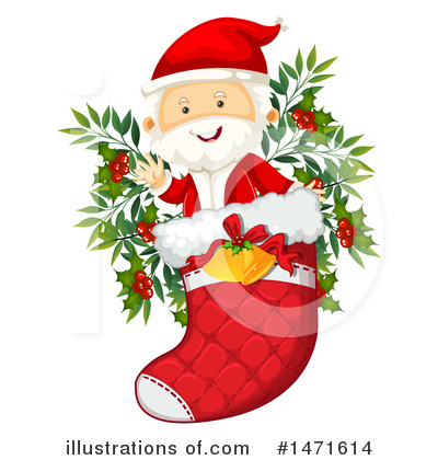 Santa Clipart #1471614 by Graphics RF