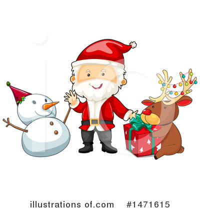 Santa Clipart #1471615 by Graphics RF