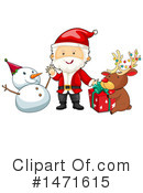 Royalty-Free (RF) Christmas Clipart Illustration #1471615