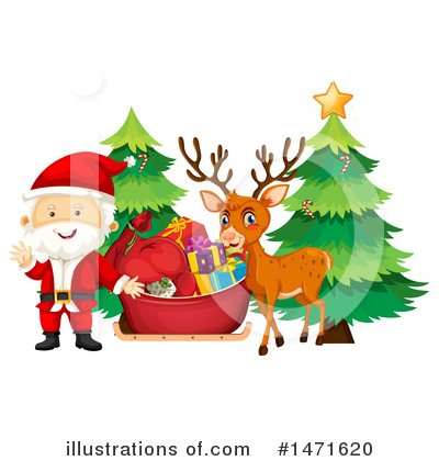 Santa Clipart #1471620 by Graphics RF