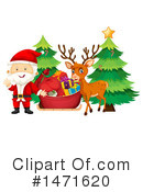 Royalty-Free (RF) Christmas Clipart Illustration #1471620