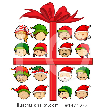 Royalty-Free (RF) Christmas Clipart Illustration by Graphics RF - Stock Sample #1471677