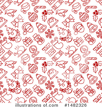Holly Clipart #1482326 by AtStockIllustration