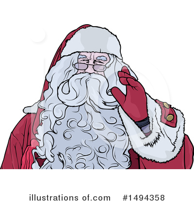 Royalty-Free (RF) Christmas Clipart Illustration by dero - Stock Sample #1494358
