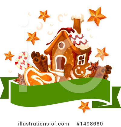 Gingerbread Clipart #1498660 by Vector Tradition SM