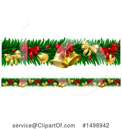 Christmas Bells Clipart #1498942 by AtStockIllustration