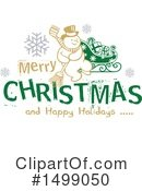 Christmas Clipart #1499050 by dero