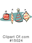 Royalty-Free (RF) Christmas Clipart Illustration #15024
