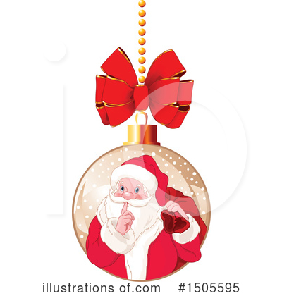 Royalty-Free (RF) Christmas Clipart Illustration by Pushkin - Stock Sample #1505595