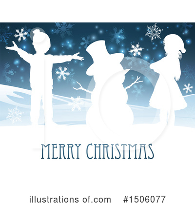 Snowman Clipart #1506077 by AtStockIllustration