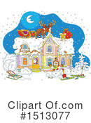 Christmas Clipart #1513077 by Alex Bannykh