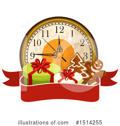 New Year Clipart #1514255 by Vector Tradition SM