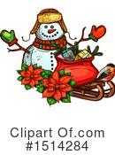 Christmas Clipart #1514284 by Vector Tradition SM