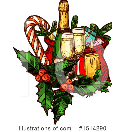 Wine Clipart #1514290 by Vector Tradition SM