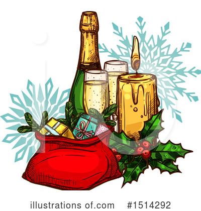 Wine Clipart #1514292 by Vector Tradition SM