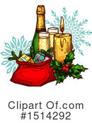 Royalty-Free (RF) Christmas Clipart Illustration #1514292