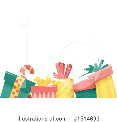 Christmas Background Clipart #1514693 by BNP Design Studio