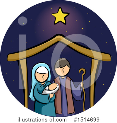 Royalty-Free (RF) Christmas Clipart Illustration by BNP Design Studio - Stock Sample #1514699