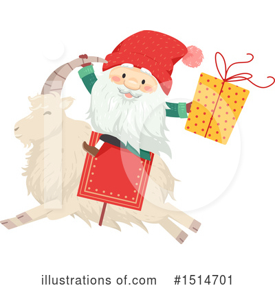 Santa Clipart #1514701 by BNP Design Studio