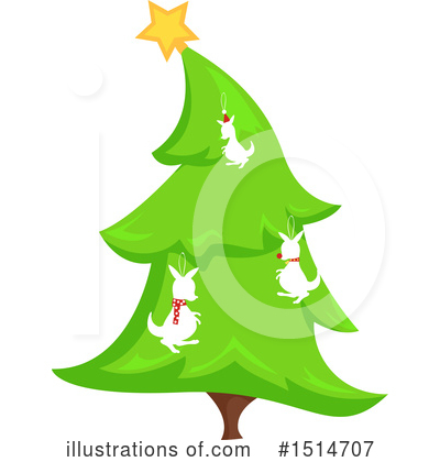 Christmas Tree Clipart #1514707 by BNP Design Studio