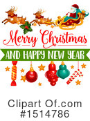Royalty-Free (RF) Christmas Clipart Illustration #1514786