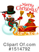 Christmas Clipart #1514792 by Vector Tradition SM