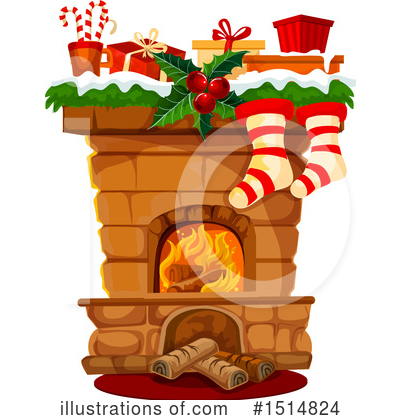 Royalty-Free (RF) Christmas Clipart Illustration by Vector Tradition SM - Stock Sample #1514824