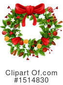 Royalty-Free (RF) Christmas Clipart Illustration #1514830