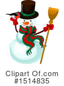 Royalty-Free (RF) Christmas Clipart Illustration #1514835