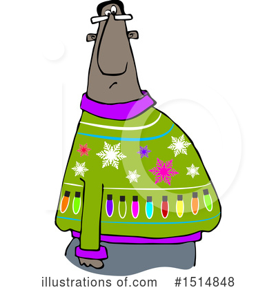 Christmas Sweater Clipart #1514848 by djart