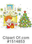 Christmas Clipart #1514853 by Alex Bannykh