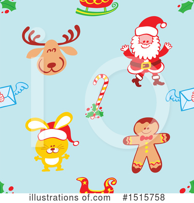 Royalty-Free (RF) Christmas Clipart Illustration by Zooco - Stock Sample #1515758