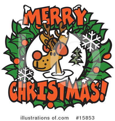 Royalty-Free (RF) Christmas Clipart Illustration by Andy Nortnik - Stock Sample #15853