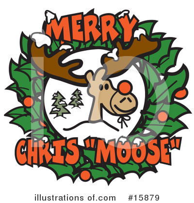 Royalty-Free (RF) Christmas Clipart Illustration by Andy Nortnik - Stock Sample #15879