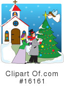 Royalty-Free (RF) christmas Clipart Illustration #16161