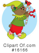 Royalty-Free (RF) Christmas Clipart Illustration #16166