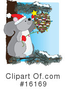 Royalty-Free (RF) Christmas Clipart Illustration #16169